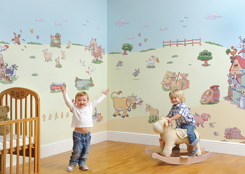 Juvita Wall Decoration : Kids wallpaper