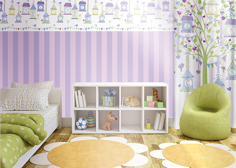 Juvita Wall Decoration : Kids room decoration